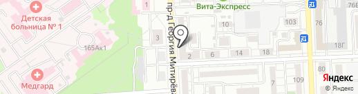 Флагман на карте Самары