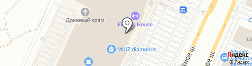 INCITY на карте Самары