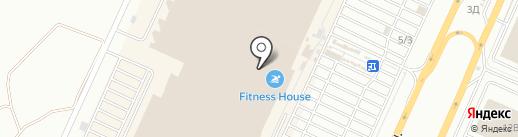 Веселая рыбалочка на карте Самары