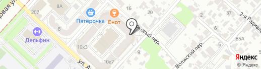 Фотостудия Ситдиковой Алии Алмазовной на карте Самары