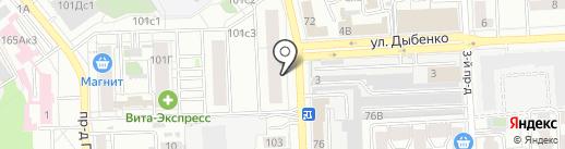 ТСС Самара на карте Самары