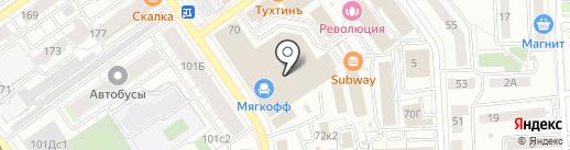 Фабрика Мирлачева на карте Самары