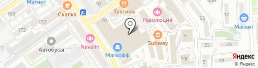 Кубика на карте Самары
