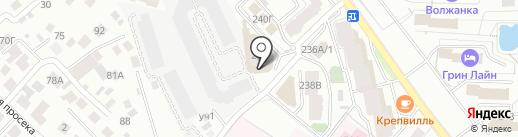 City Hostel на карте Самары