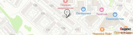 Ивашка на карте Самары