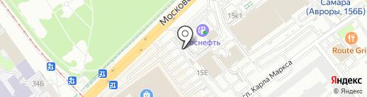 Магазин цветов на карте Самары