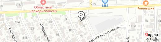 Самарский метрологический центр на карте Самары