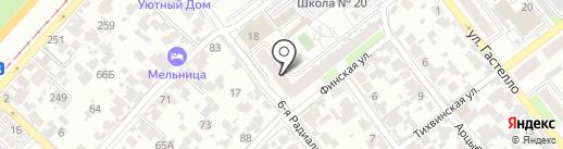 Компания по изготовлению резных наличников на карте Самары