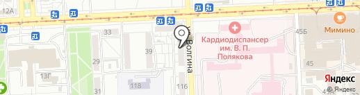 Алия на карте Самары