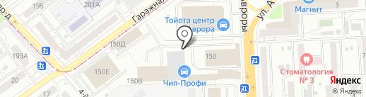 Мега на карте Самары
