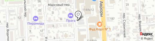 Вик на карте Самары