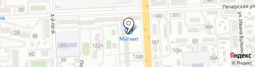 Магазин пряжи на карте Самары
