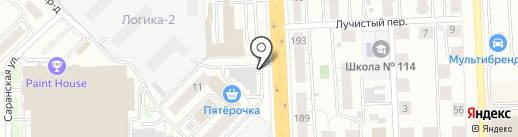 Шашлык Хаус на карте Самары