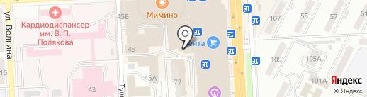 ФЛЕКС-СПОРТ на карте Самары