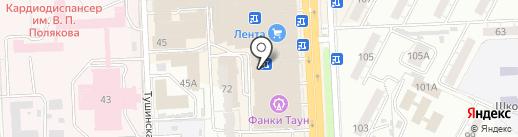Тюбетей на карте Самары
