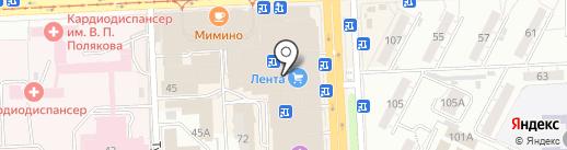Pandora на карте Самары