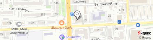 Рехина на карте Самары