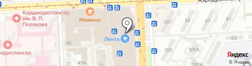 NICE на карте Самары