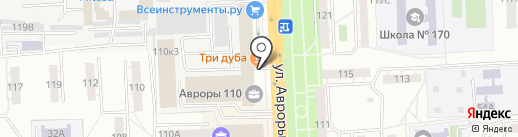 Джи Лайф на карте Самары