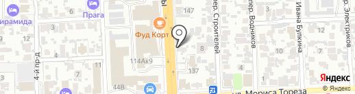 Автосервис на карте Самары