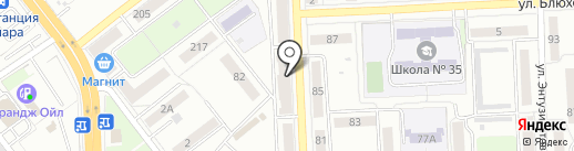 АВАНТЕ на карте Самары