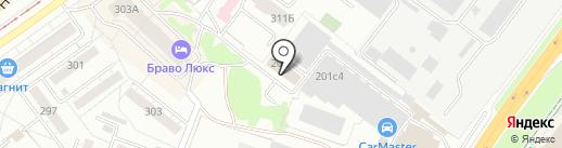 Твой Курьер-Поволжье на карте Самары