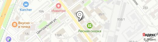 Юр-Компани на карте Самары