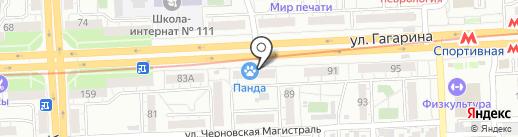 Адмион на карте Самары