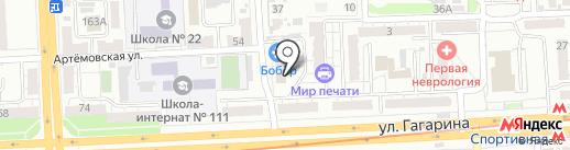 Садовые домики на карте Самары