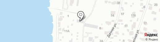Волжанка на карте Самары