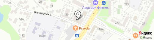 Ютим на карте Самары