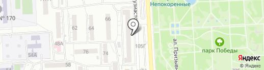РайБТ на карте Самары