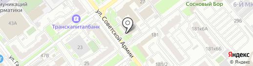 Искра Жизни на карте Самары