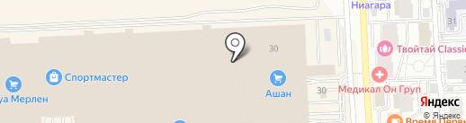 Сеть на карте Самары