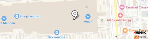 Дубовый дым на карте Самары