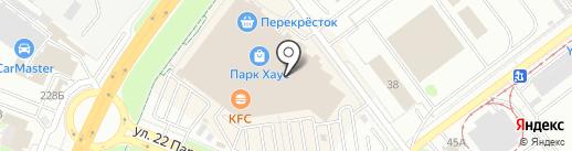 Интерьерная лавка на карте Самары
