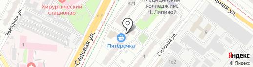 ПАРИТЕТ-СК на карте Самары