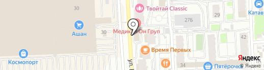 Адвокат Приставко А.С. на карте Самары