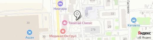 Гранит на карте Самары