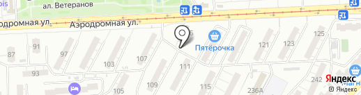 Кондитерский магазин на карте Самары