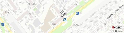Olympek.ru на карте Самары
