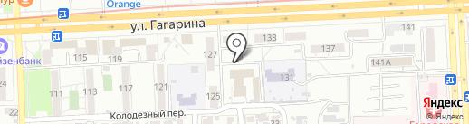 Биор на карте Самары