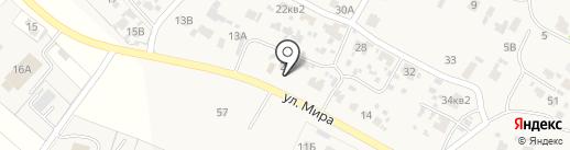 Магазин продуктов на карте Лопатино