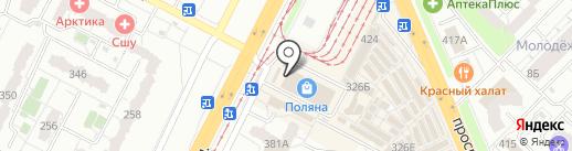 Магазин мужской одежды на карте Самары