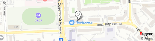 Омега-Айз на карте Самары