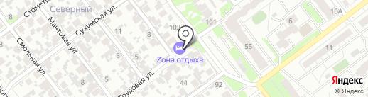 Радогор на карте Самары