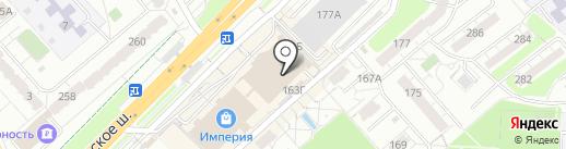 Jordano на карте Самары