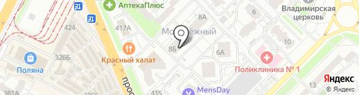 Студия красоты Марины Прокофьевой на карте Самары