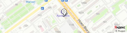 Автоэкспресс-тур на карте Самары