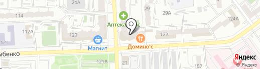 Ершова С.А. на карте Самары